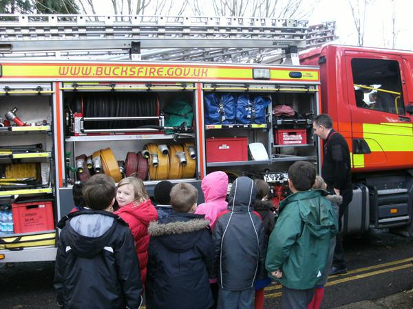 Looking at the Fire Engine