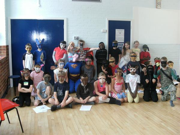 Superheroes Assembly