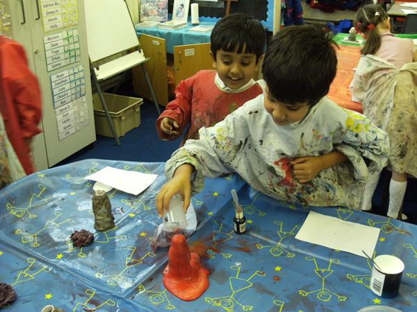 Erupting our volcanoes