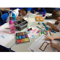 Art - working with pastels