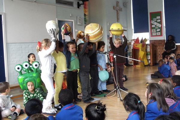 Our First Class assembly!
