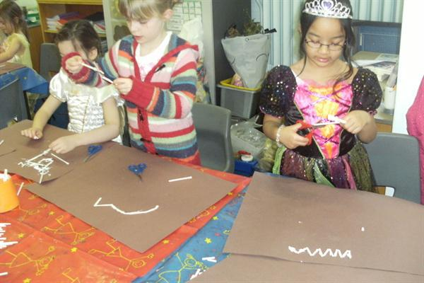 Making our dinosaurs