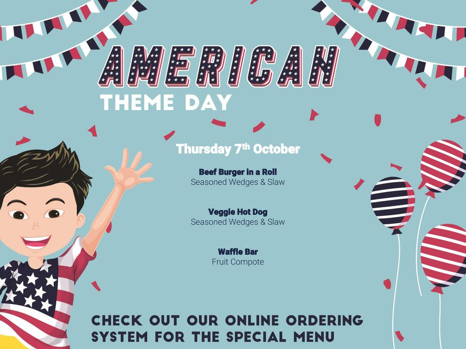 American Theme Day 7th October