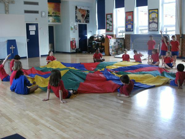 Using the parachute in PE