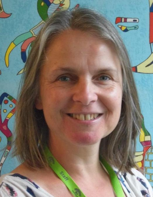 Head and shoulders photo of Mrs Caudwell