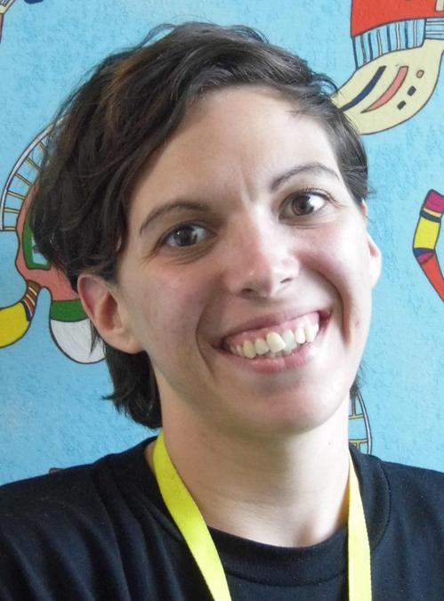 Head and shoulders photo of Miss Harding.