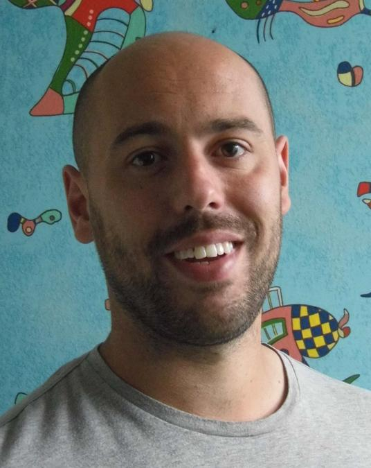 Head and shoulders photo of Mr Taylor.