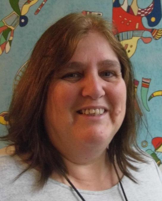 Head and shoulders photo of Mrs Lamb.