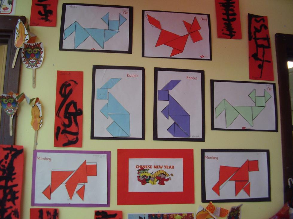 Our art celebrates the Chinese New Year