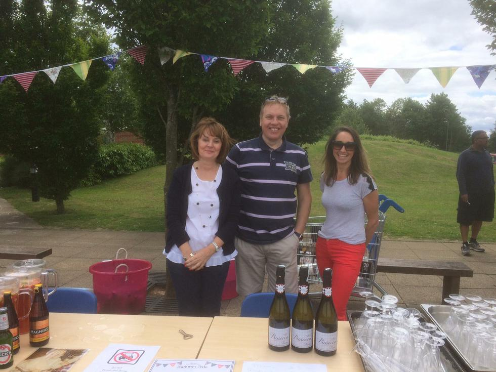 Governors' Bar at the Summer Fete '16