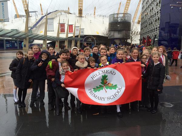 Hillmead Young Voices Choir at the O2  Jan 2016