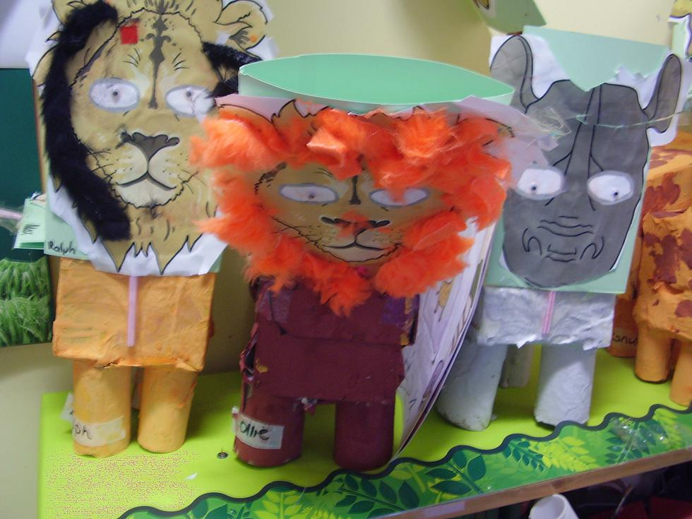 Our paper animals