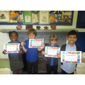 Our KS1 winners.