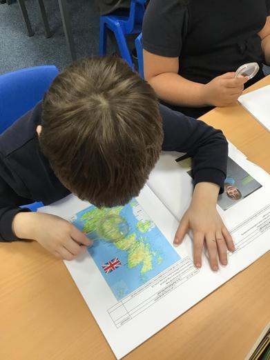 Map reading in Y2