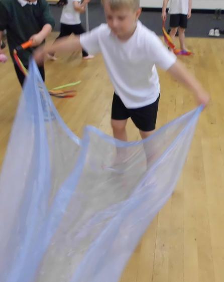 ribbons in PE.