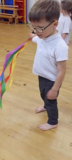We did some creative dance with