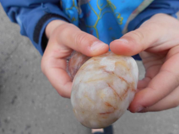 We even found one that looks like an egg.
