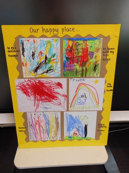 Our Happy Place display
