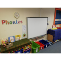 Our interactive whiteboard is ready for us to explore