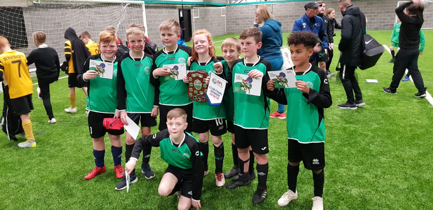 Kids' Cup Derby County Winners 2019