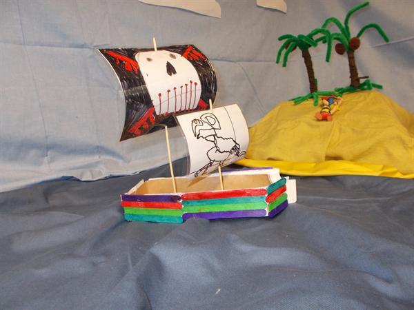 Design and make a Pirate Ship