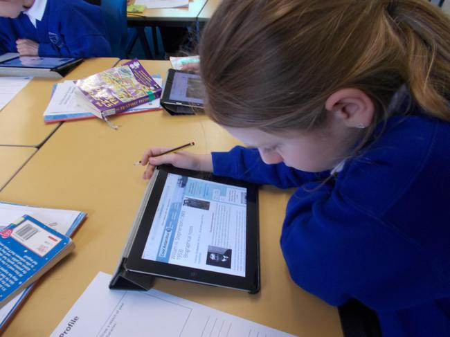 Latest Technology supports independent learning