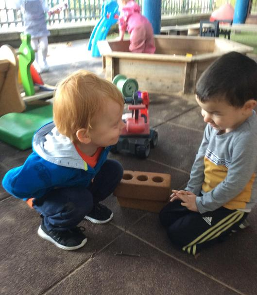 You can always find a friend at Nursery