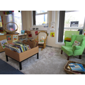 Our quiet book corner