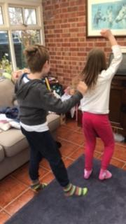 ...keeping active with 'Jump Start Jonny'