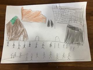 ....pictures inspired by LS Lowry.