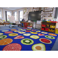Our carpet area