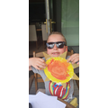 My sun quiz holder