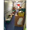 Where do you put 4 classroom's worth of stuff?