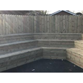 Our new amphitheatre-perfect for outside storytime
