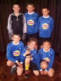 2002/3 Year 5 5 a-side cup winners