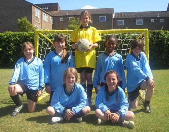 2007 PHLaG Girls' 5-a-side football winners