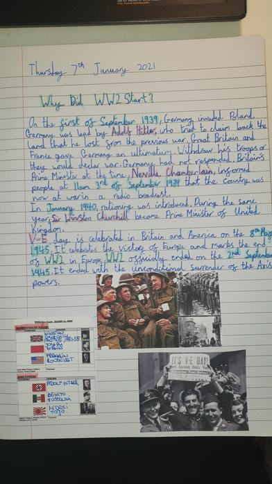 Martyna's World War 2 report