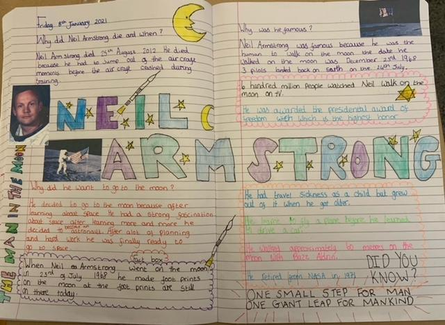 Lia's Neil Armstrong Research