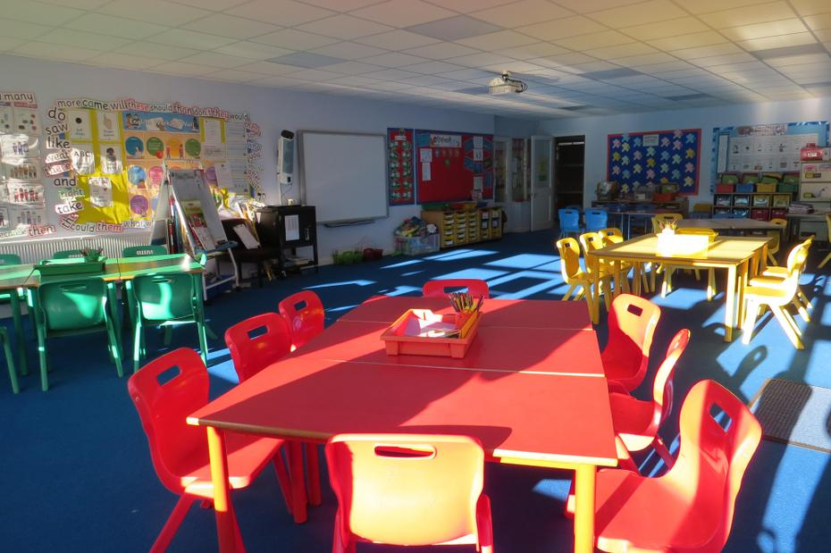 Classroom for smaller children