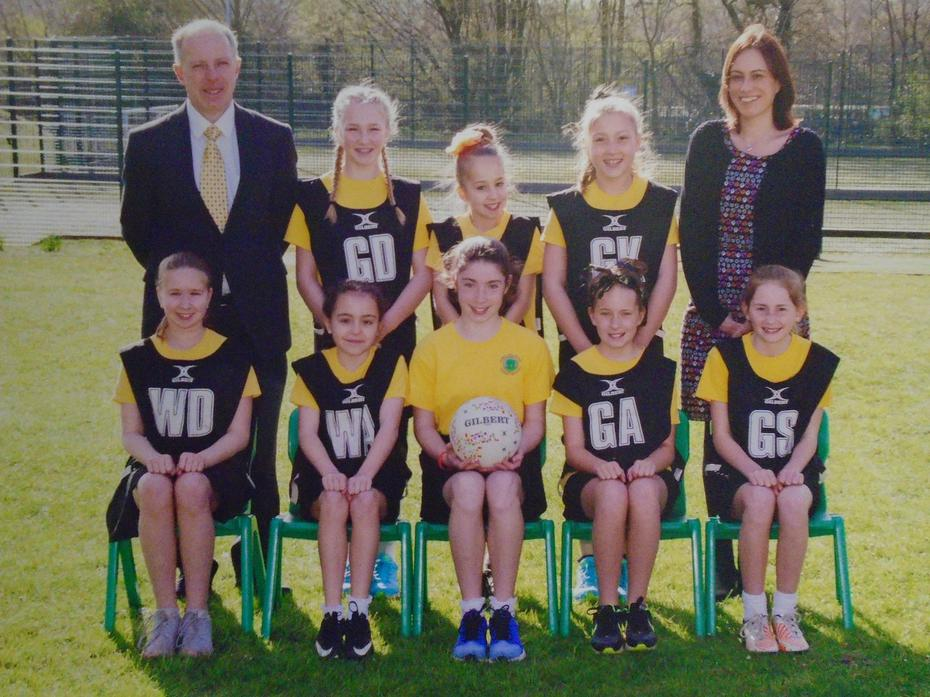 District Netball League Winners 2016
