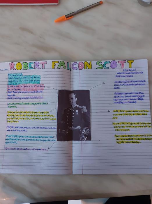 Molly's Robert Scott Research