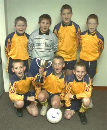 2002/3 season 7 a-side cup winners
