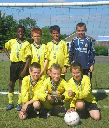 PHLaG Boys' 5-a-side football winners 2007