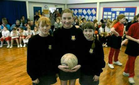 2003 Netball Shoot Competition