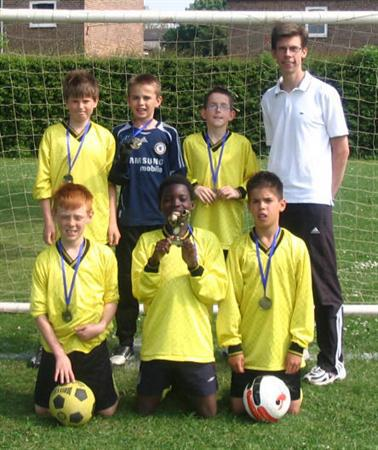 2008 PHLaG 5-a-side football winners