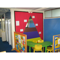 KS1 working area.