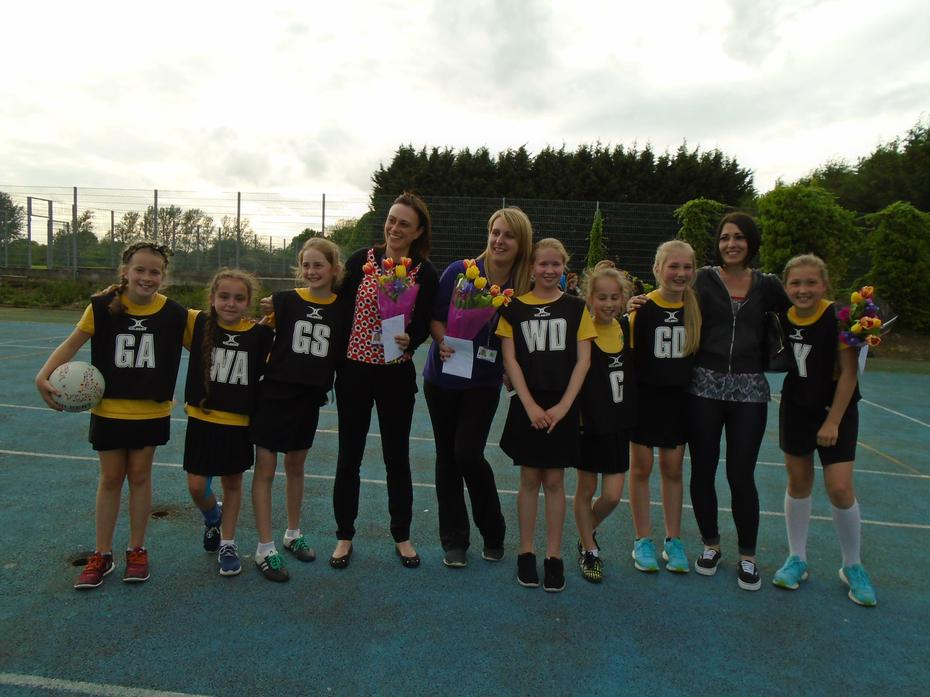 District Netball Competition Winners 2016