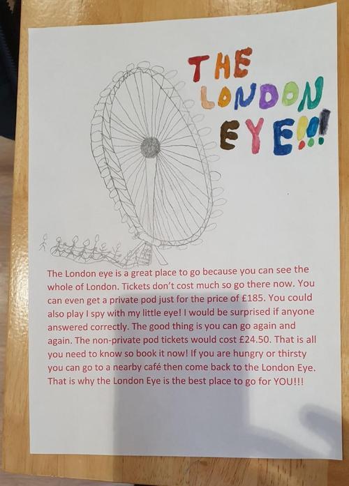 Matas - London Eye