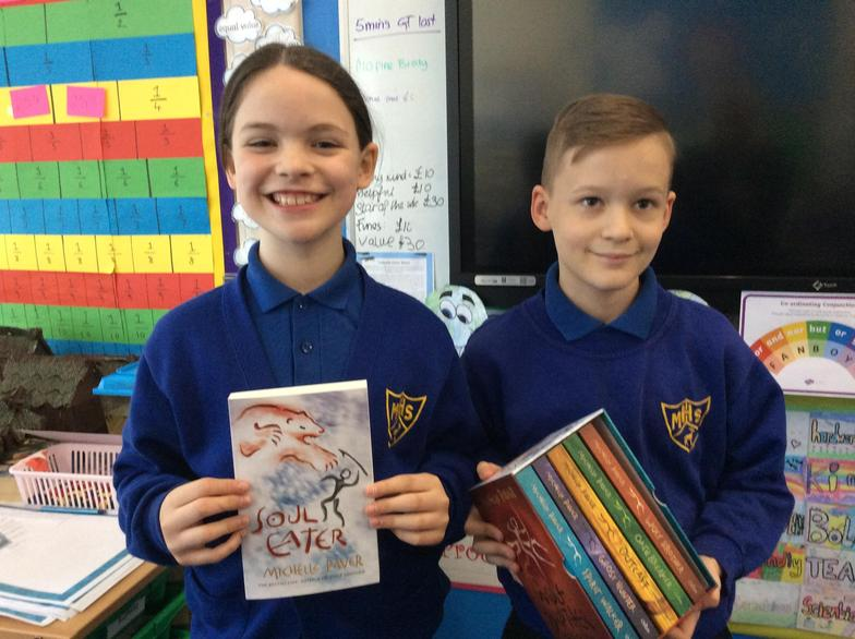 Poppy & Bobby have enjoyed our class book so much they bought the series!