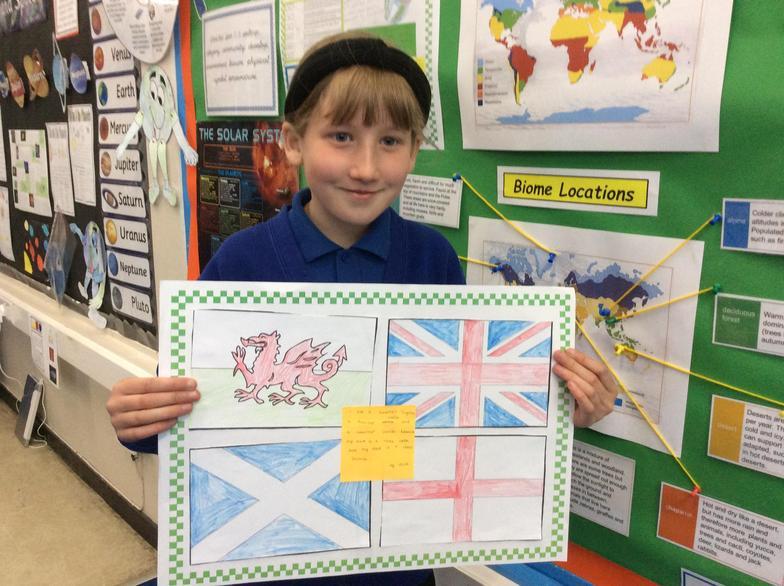 I'm part English, Welsh and Scottish